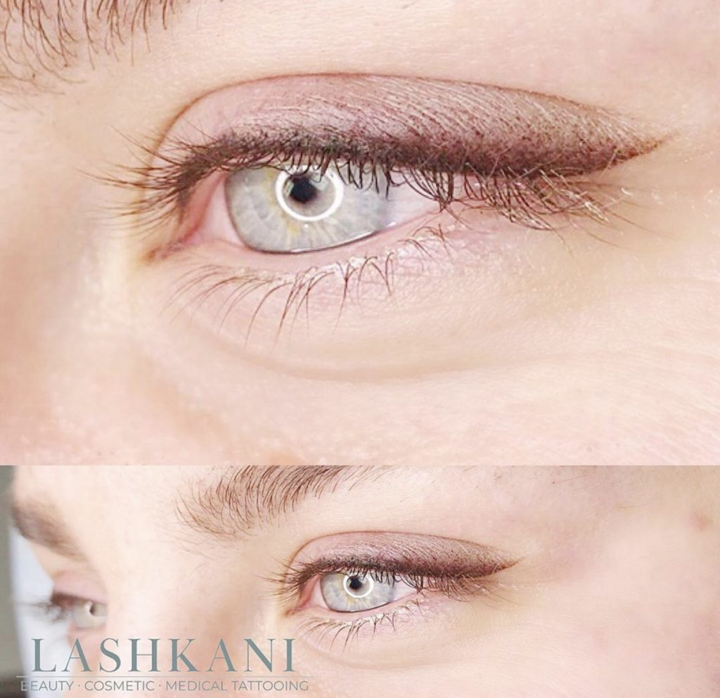 Difference between permanent and semi-permanent make up.